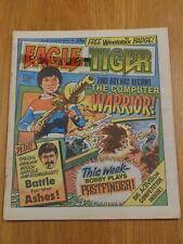 EAGLE AND TIGER 8TH JUNE 1985 #168 BRITISH WEEKLY IPC MAGAZINE