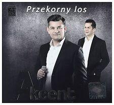 Akcent - Przekorny los (CD) 2016 Disco Polo NEW