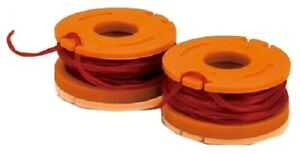 2 x WORX Strimmer Spool Line inc WG150 WG151 WG163 WG175 WG180 UK 1st same day
