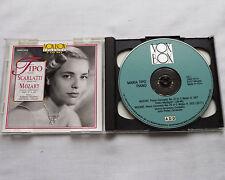 Maria PIPO / SCARLATTI 12 Sonatas-MOZART Concerti 21 & 25 USA 2xCD VOX BOX(1993)