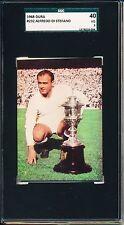 1968 #232 Dura Alfredo Di Stefano DiStefano SGC 40= PSA 3 Super Rare soccer card