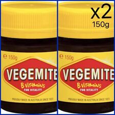 Vegemite 150g Jar x 2 | Brand New & Sealed | Australia Aussie Food Spread