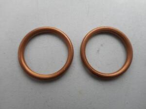 Vincent Copper Washer Compressible Petrol Tap Oil Feed/Return BanjoBolt Seal HRD