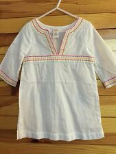 *GYMBOREE* Girls SWIM SHOP White Top Size 4