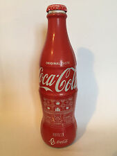 Coca Cola  90 anni Coca Cola Bottle 2017 Abruzzo Italy wrapped bottle very rare