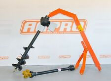 "AGPRO 60HP POST HOLE DIGGER WITH 9"" PREMIUM AUGER + 2 YEARS GEARBOX WARRANTY"