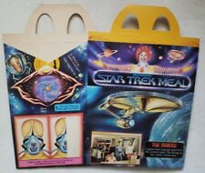Star Trek The Motion Picture RARE 1979 McDonalds Kids Happy Meal Box Fast Food