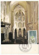 CARTE MAXIMUM FDC 1979 TIMBRE N° 2040 LUMIERE DE BERNEY / SAINT PIERRE SUR DIVES