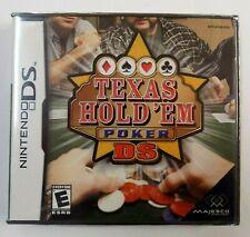 """BRAND NEW"" Texas Hold 'em Poker DS (Nintendo DS) FACTORY SEALED"