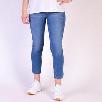Levi's 535 Cropped hellblau Damen Jean Legging Größe 30