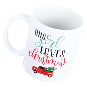 1 Pc 350ML Lovely Drink Mug Practical Xmas Gift Durable Convenient Cup