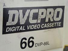 Maxell DVC Pro DVP-66L Digital Video Cassettes (set of 5) 66L Panasonic