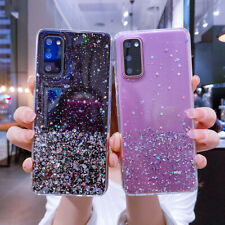 Case For Samsung A21S S20 S10 Note 20 Ultra A51 A71 Bling Glitter Soft TPU Cover