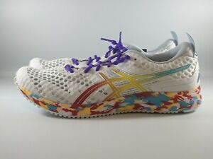 ASICS Women's Gel-Noosa Tri 12 Running Shoes Size 10 White/Classic Red 1012A578