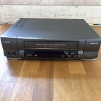 Sanyo VHS VCR Video Recorder VHR-296 Tested And Working