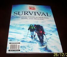 Time Life Special Magazine Issue Survival:Amazing Tales of Heroism,Hope,&Healing