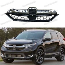 Front Upper Radiator Grille Chrome For Honda CRV 2017-2018