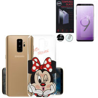 "Coque Silicone TPU Ultra-Fine Samsung Galaxy S9 Plus 6.2"" + Film Verre Trempe"