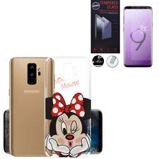 """Coque Silicone TPU Ultra-Fine Samsung Galaxy S9 Plus 6.2"""" + Film Verre Trempe"""