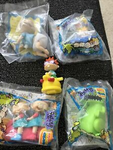 NICKELODEON  RUGRATS  action figures  Complete Set 1998 Burger King TOYS