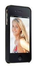 Gecko Gear Profile Black Slimline Hard Case + Anti-Glare Guard for iPhone 4/4s