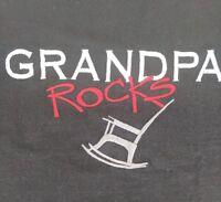 TSI brand hurricane WV Grandpa rocks t-shirt