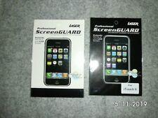 Ipod Touch 2G/3G Cristal claro Protector de pantalla x2