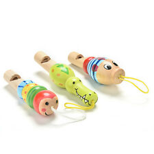 Animal Whistle Music Enlightenment Baby Children Educational Wood Kids Toys_CH