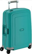Samsonite S'Cure - Spinner 55 - 2,90 Kg Hand Luggage, 55 cm, 34 L, Aqua Blue