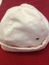 Cappellino da bambina neonata - colore rosa chiaro - circonferenza 38 cm - USATO