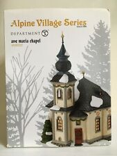 """Dept 56 Alpine Village """"Ave Marie Chapel"""""""