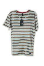 Bench Herren T-Shirt Pontcanna BMGA2943CR033X, Gr L, mehrfarbig grau /sleet marl