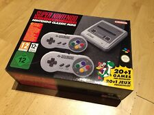 Nintendo SNES Mini Classic Super Nintendo gioco UK Entertainment System Wii U
