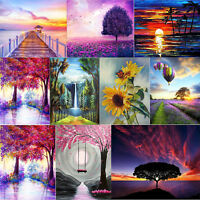 5D DIY Full Drill Diamond Painting Scenery View Cross Stitch Embroidery Kit