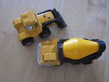 Vintage Cement Truck Hardbody and Front End Loader Tootsietoy Const. Co. 1992