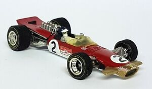 Quartzo 1/43 - 4007 Lotus 49B Jackie Oliver Belgian GP 1968 Diecast F1 Car