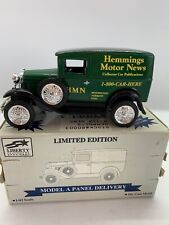 Liberty Classic Ford Model A Panel Delivery Hemmings Motor News 1:25 Scale MIB