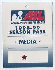 1998-99-American Basketball League (Abl)-Women-Press Pass-Nmt