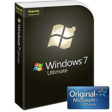 Microsoft Windows 7 Ultimate (Box) (1) - Upgradeversion für Windows GLC-00206