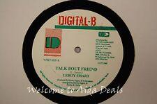 "Talk Bout friend,Leroy Smart / Assassination, General T.K (VG) LP 12"""