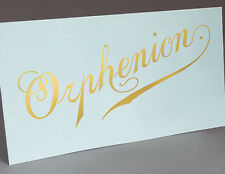 Orphenion Music Box Water Slide Decal
