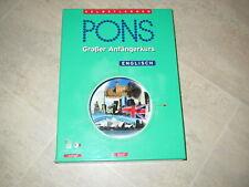 PONS Englisch Der große Kurs für Anfänger Lernsoftware Sprachkurs