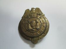 Vintage Tootsietoy Junior G Man Toy Metal Badge