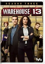 Warehouse 13: Season Three [New DVD] 3 Pack, Repackaged, Snap Case