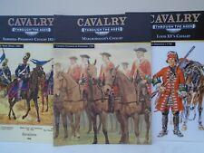 Del Prado 'Cavalry Through The Ages' Magazines x 3 (Osprey)
