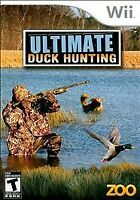 Ultimate Duck Hunting (Zoo Games) (Nintendo Wii, 2007)  DISC ONLY   FAST SHIPPIN