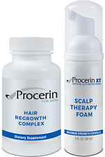 Procerin Hair Regrowth Complex & Procerin XT Scalp Therapy For Thinning Hair NEW