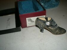 """Just the Right Shoe by Raine 2001 """"Parisian Nights"""" Ankle Boot Euc (H)"""