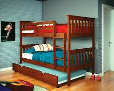 Bunk Beds for Kids with Trundle