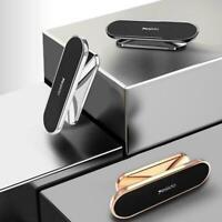 Car Phone Holder Mini Strip Shape Magnetic Car Phone Magnet Stand Holder HO V1Z9